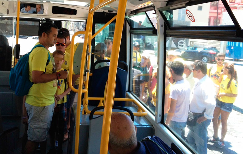Guaguas municipales activa su dispositivo especial 39 f tbol - Casa activa las palmas ...